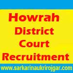 Howrah District Court Recruitment