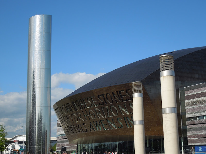 Wales Millennium Center Water Tower