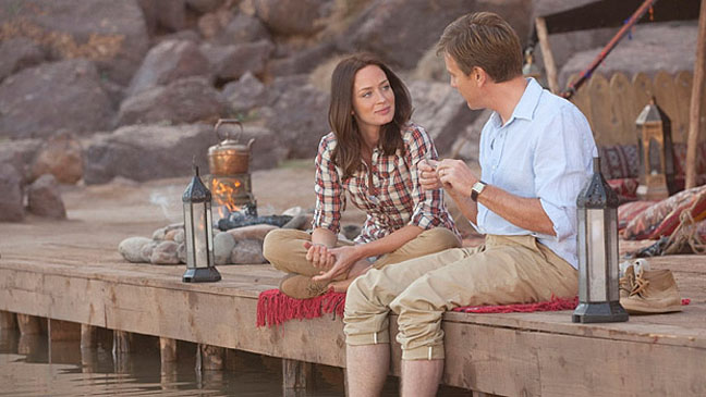 The jane austen film club emily blunt actor of the week for Salmon fishing in the yemen