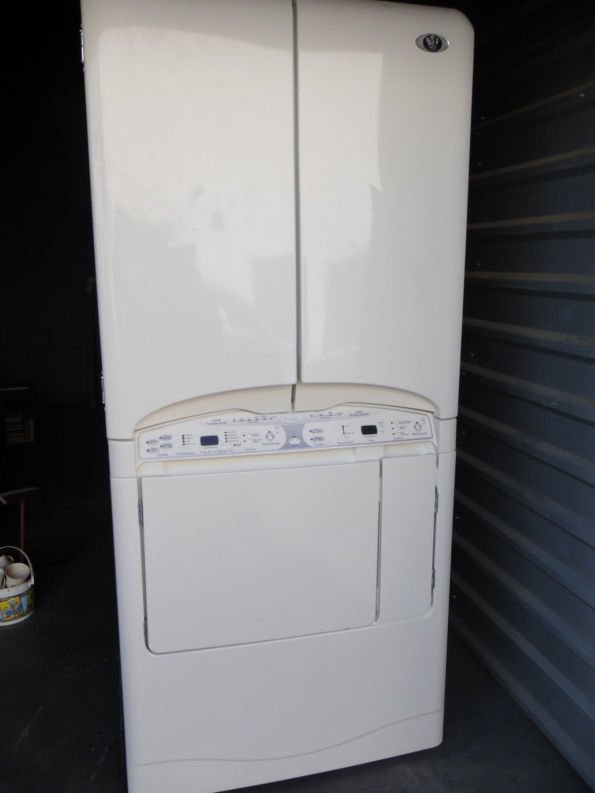 Maytag Drying Cabinet ~ The storage princess sold no longer available maytag