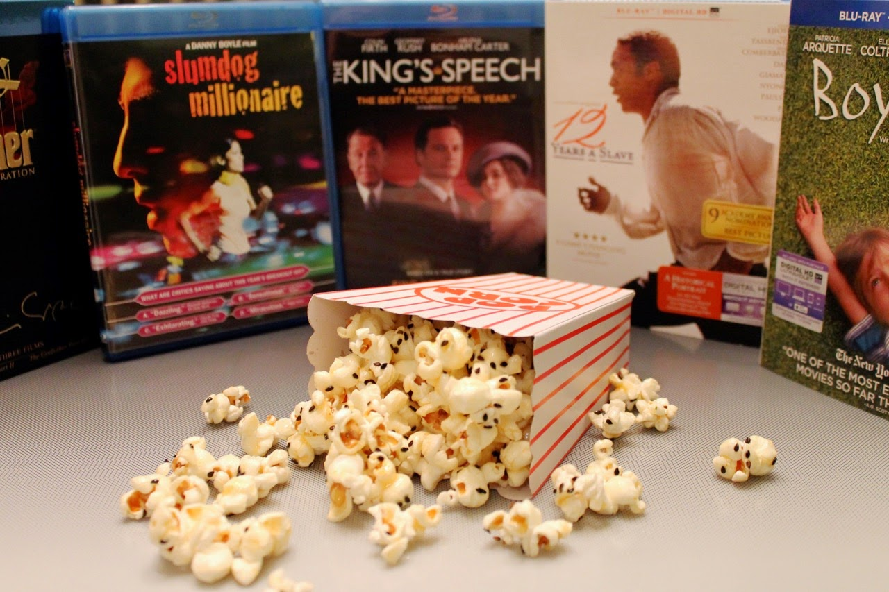 Oscar Nibbles: Red Carpet Popcorn
