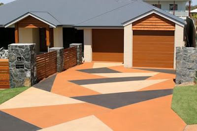 Driveway paint how driveway paint can make you happy for Can i paint asphalt driveway