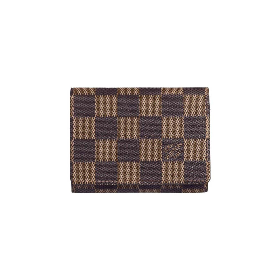 Louis Vuitton Damier Ebene Canvas Business Card Holder N62920