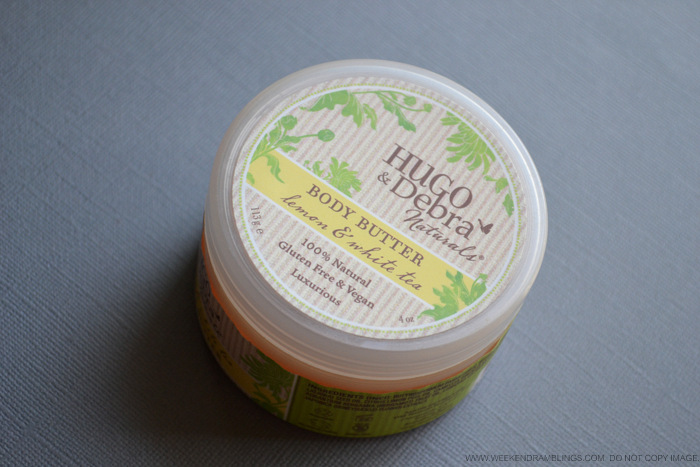 Hugo Debra Naturals Shea Body Butter - White Tea Lemon - Review