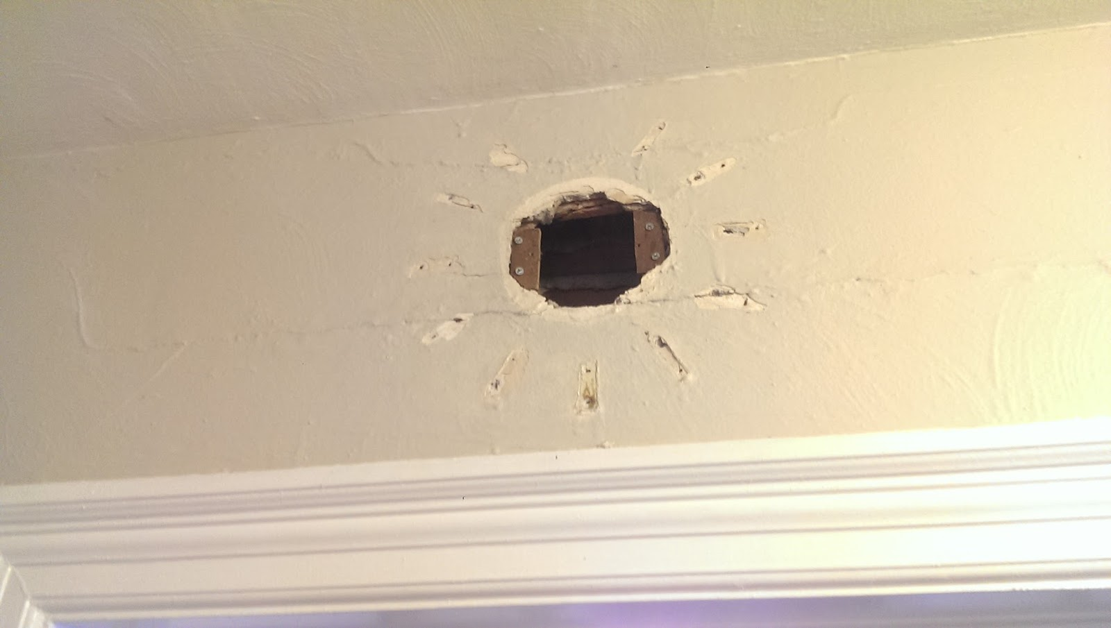 patch a square hole in drywall