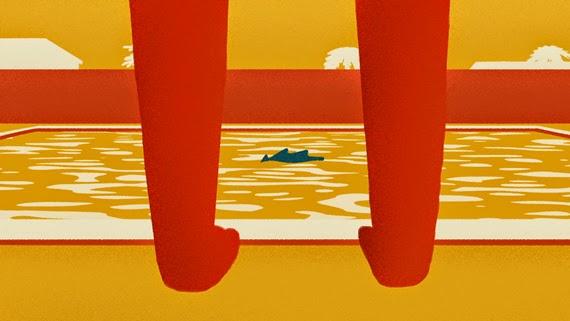Aqua profonda by Nathan Campbell
