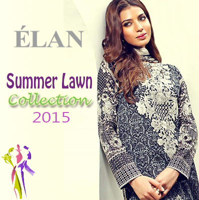 Elan Prints Summer Lawn Collection 2015 for Girls