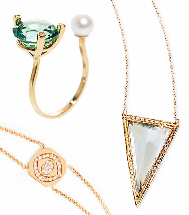 Jewelry Delephine Delettrez Vanessa evil eye bracelet Jacquie Aiche
