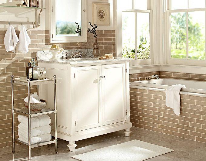 New bathroom design for Pottery barn bathroom designs