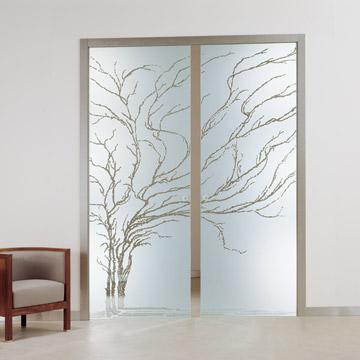 Puertas correderas de cristal decoracion y manualidades - Puertas de salon con cristal ...