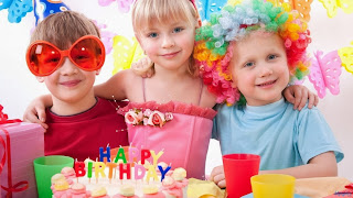 Little Babies Cute Birthday Party HD Wallpaper