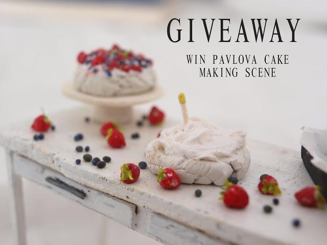Mi-studio of miniatures giveaway