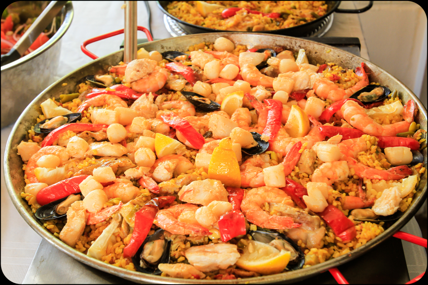 gorgeous real paella spanish paella is a traditional dish made from a ...