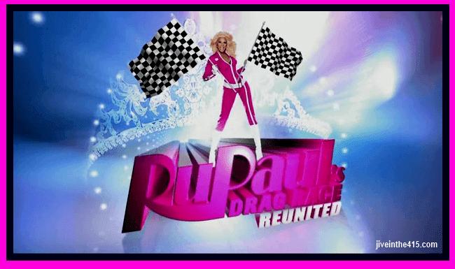 """Rupaul's Drag Race season 5 """"Reunited"""" jiveinthe415.com"""