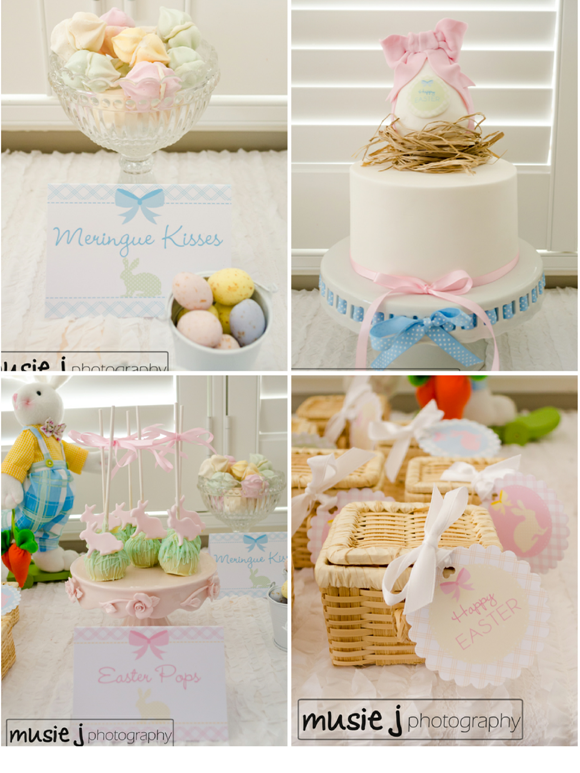 Easter Desserts Table Party Ideas