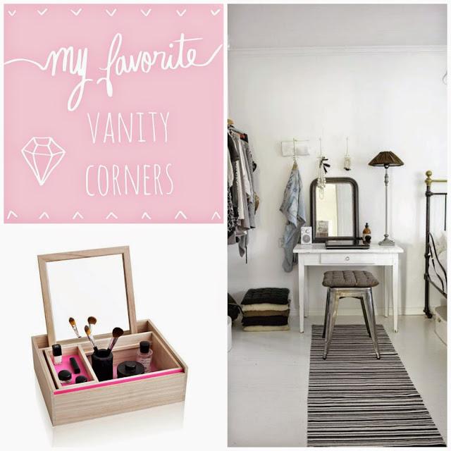 Chic vanity corners