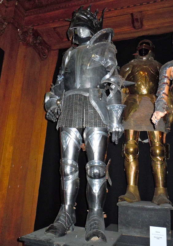 Harry Potter Headless Knight costume armour