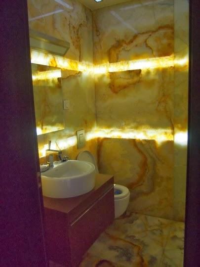 Баня оникс със светещ фриз 6
