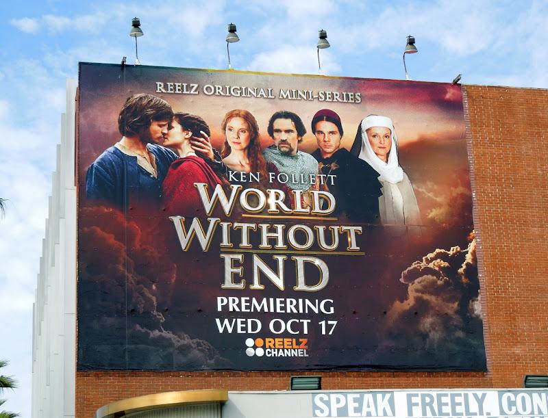 Ken Follett World Without End billboard