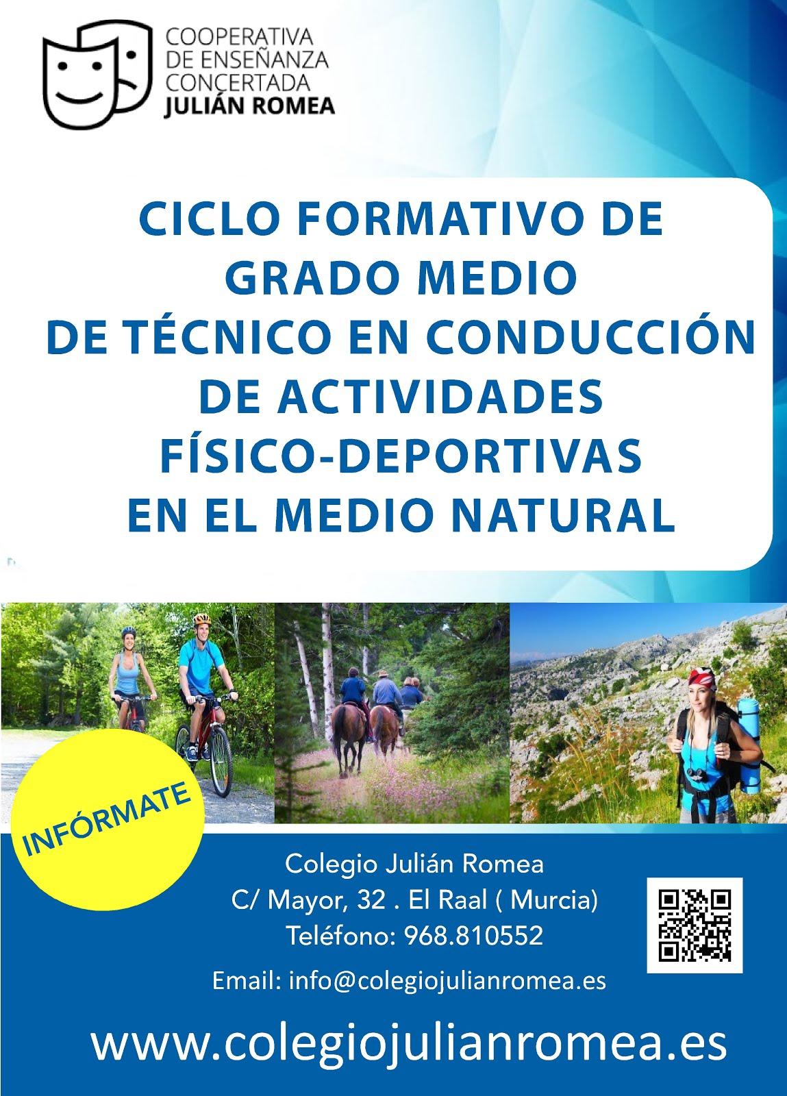 Técnico en conducción de actividades físico-deportivas en el medio natural