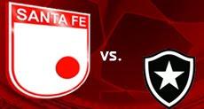 Independiente Santa Fe Vs Botafogo Partido de vuelta – Copa Sudamericana