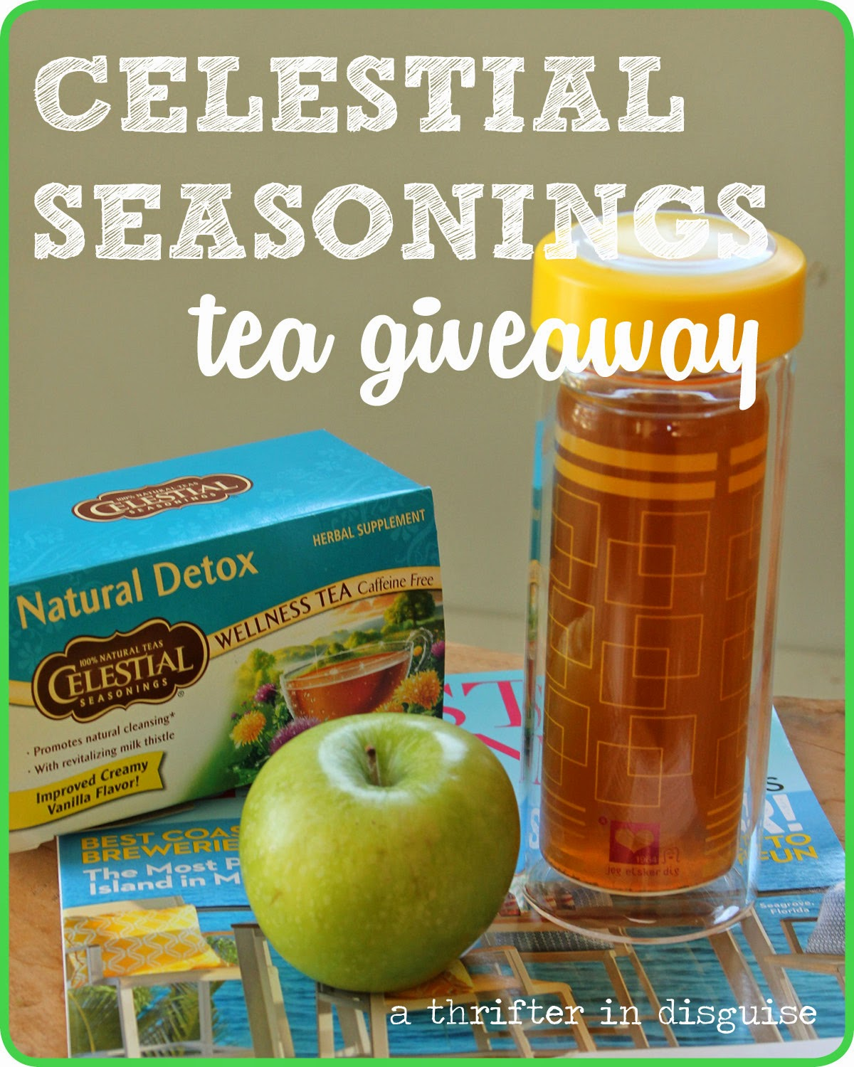 Celestial Seasonings Coupon and Giveaway