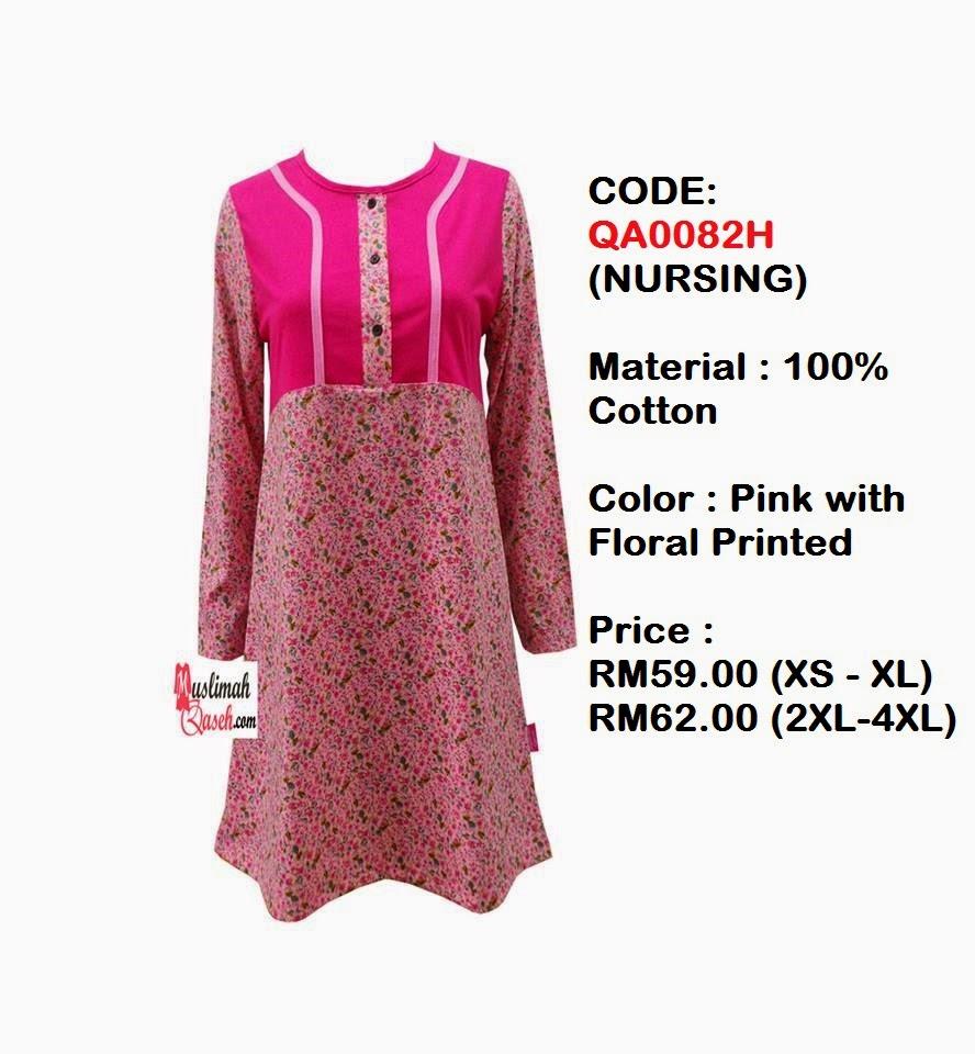 T-Shirt-Muslimah-Qaseh-QA0082H