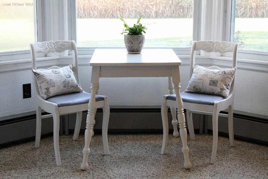Dining Chair Makeover - How to Strip, Paint, and Recover Chairs ...
