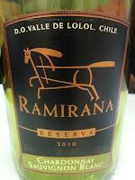 Ramirana Reserva Chardonnay e Sauvignon Blanc