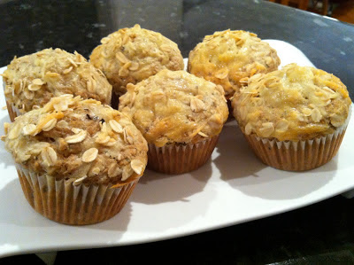Savory Pepper Cheddar Oat Muffins @ SouthernSpoon Blog