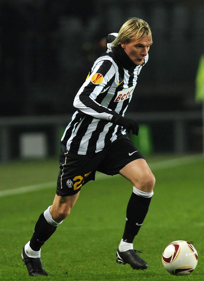 Krasic Juventus 2011, Milos Krasic close to Manchester United