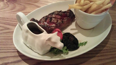 8oz sirloin steak at Beefeater, Leicester
