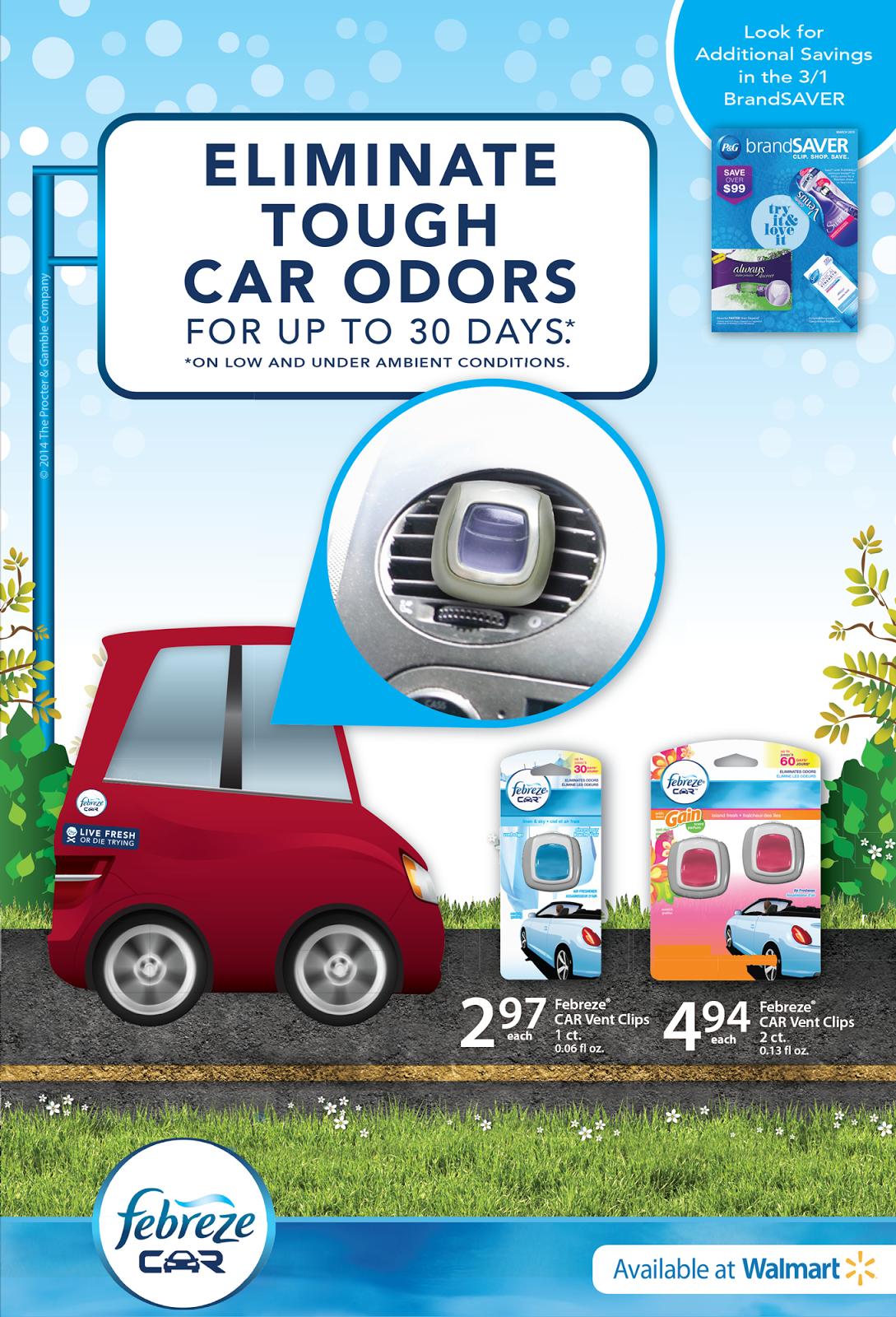 eliminate car odors