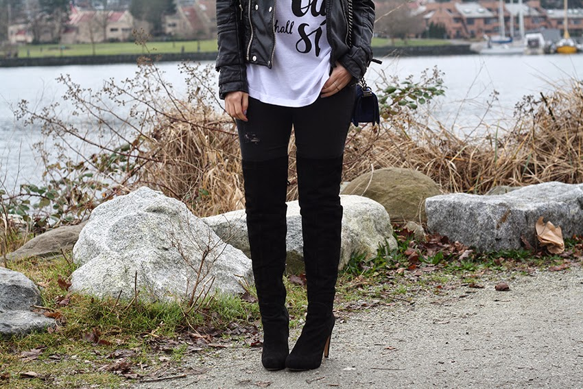 Chanel, Sam Edelman, Leather Jacket, Hair Style, BOB, Gold, LOB, Long Bob, Style, Fashion, Outfit, whowearwhat, street fashion