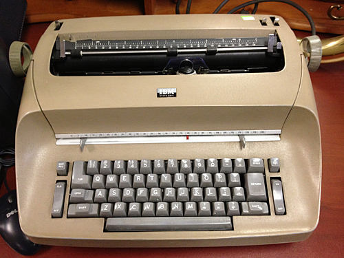 NowThisLife.com - IBM Typewriter