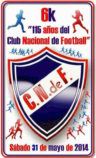 "6k ""115 años del Club Nacional de Football"" (6115 mts, 31/may/2014)"