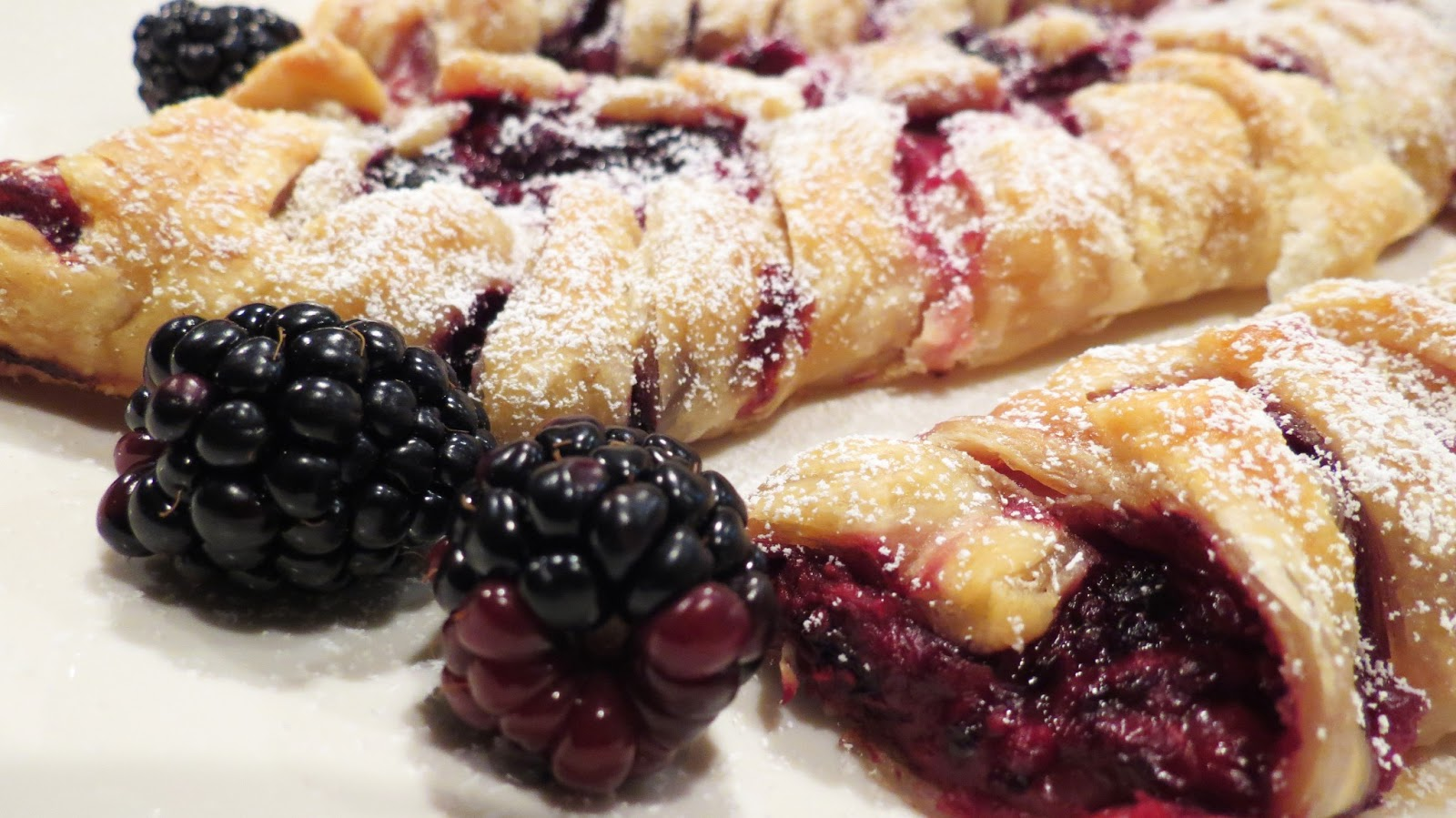 So Last Season Blackberry Crossover Puff Pastries The