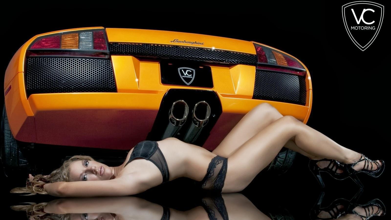 Scuderia Supercars Sa Supercar And Girl
