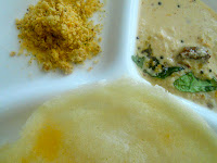 coconut and gram dal podi
