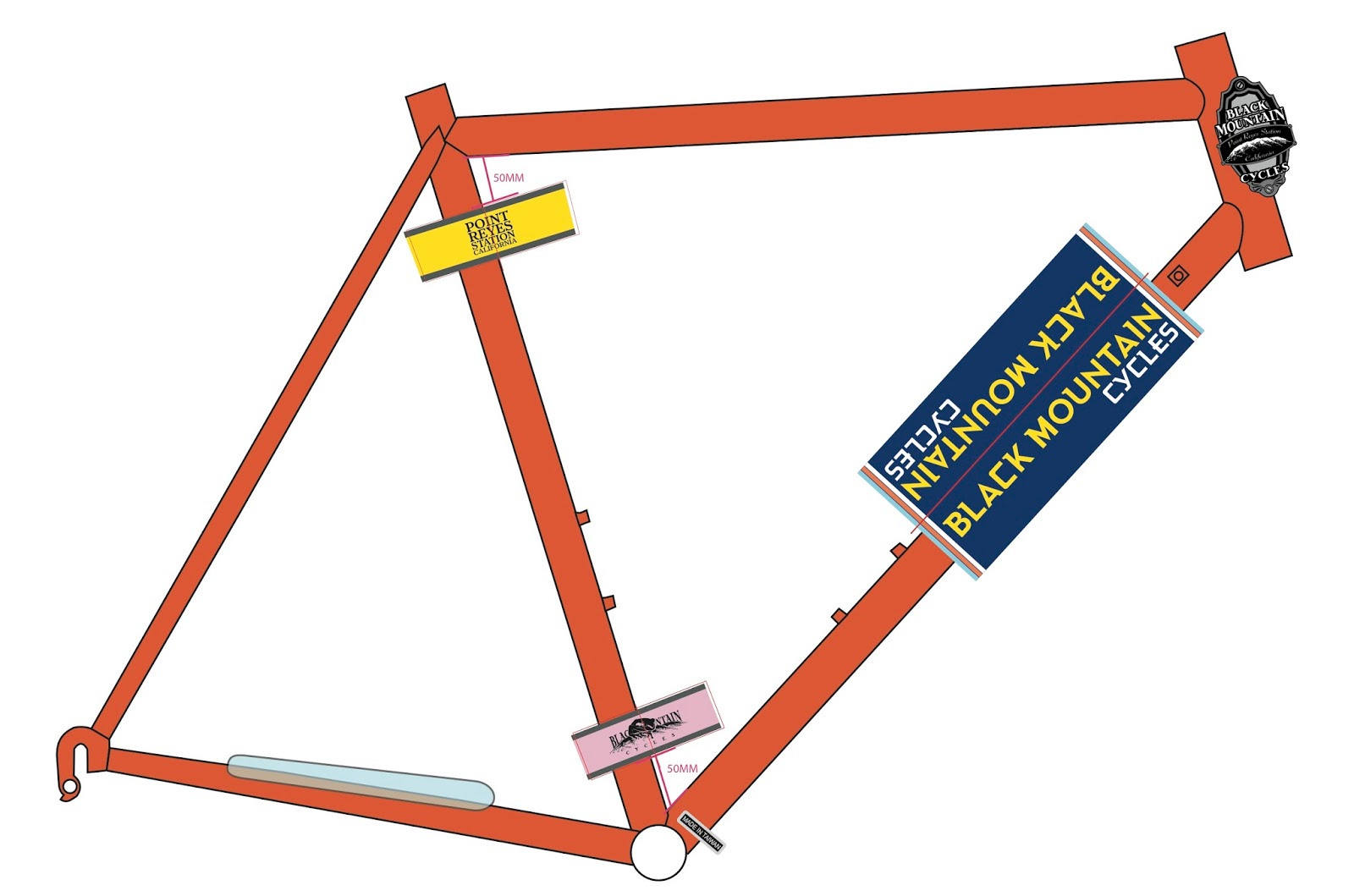 Road Frame Changes - And A Surprise - Black Mountain Cycles