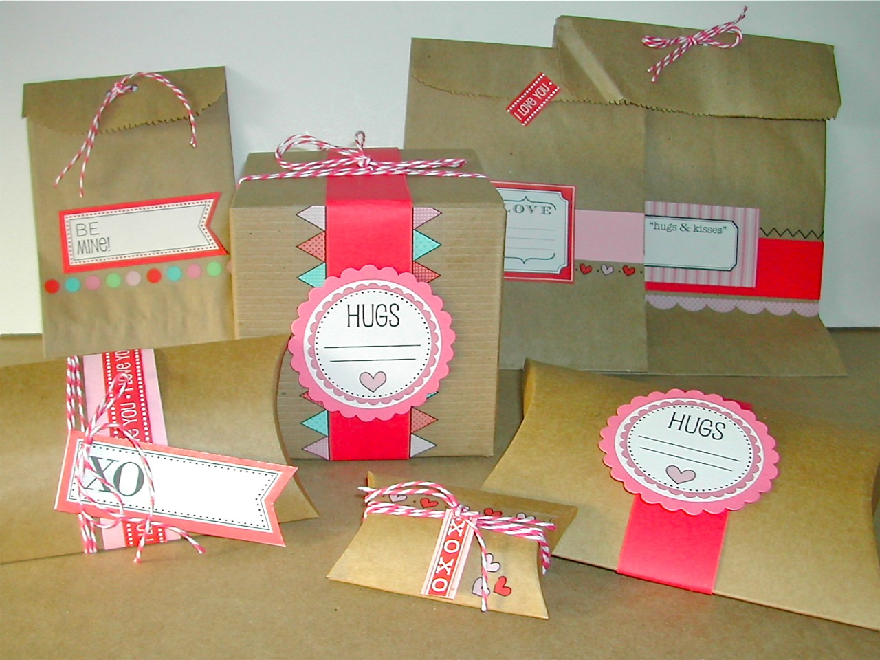SRM Stickers Blog - NEW Kraft Boxes - #boxes #valentines #new #CHA #giftbox #favorbox #partyfavor #wedding