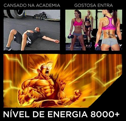 Nível de energia + de 8000