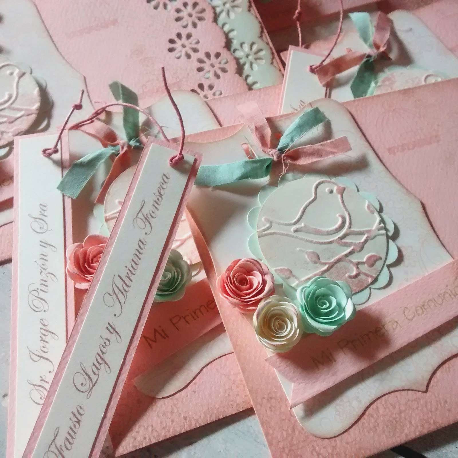 Dise os marta correa mensajes tarjetas de invitaci n - Casas para belenes hechas a mano ...