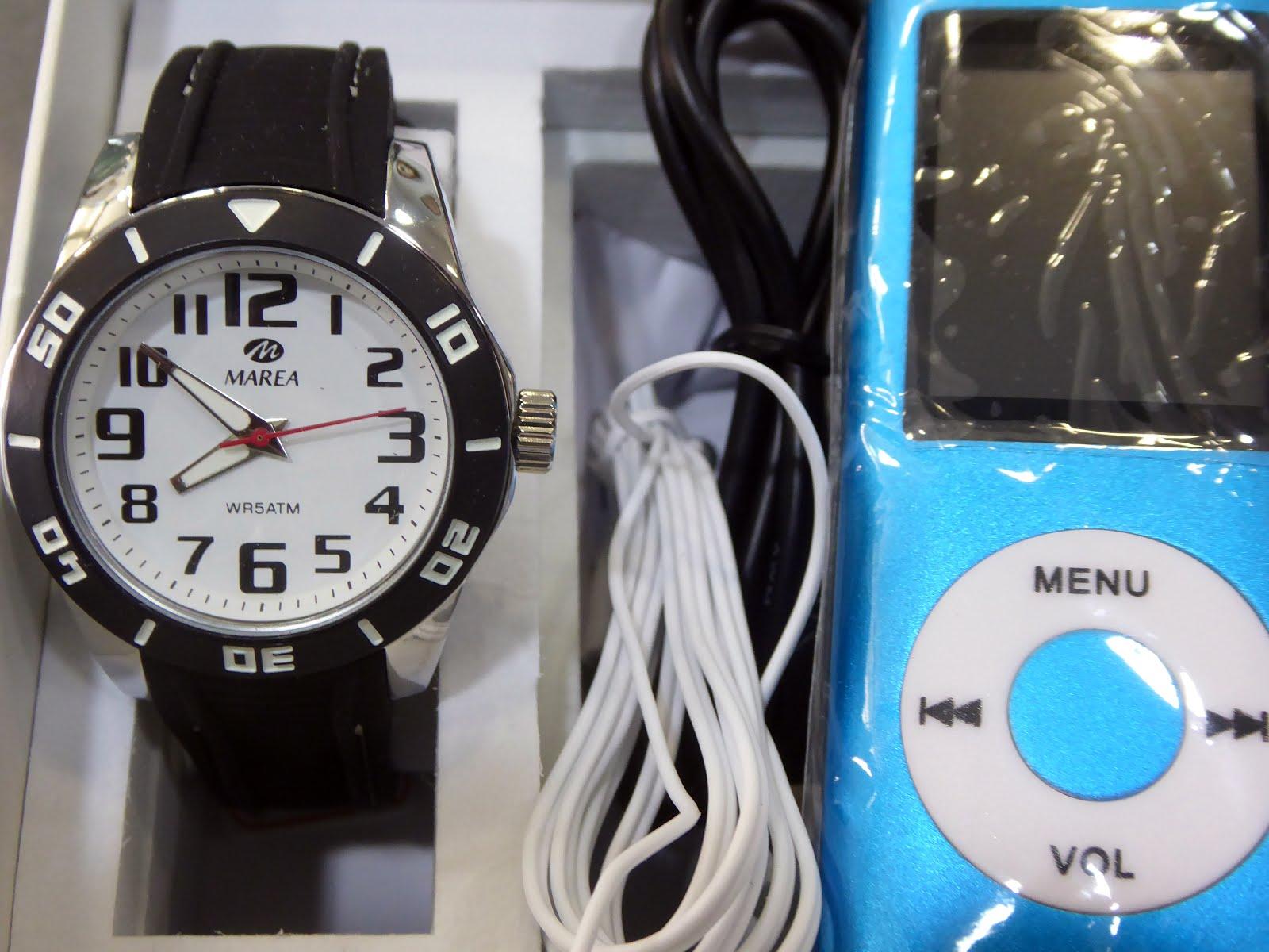 Estuche regalo Comunión Reloj Marea + MP4