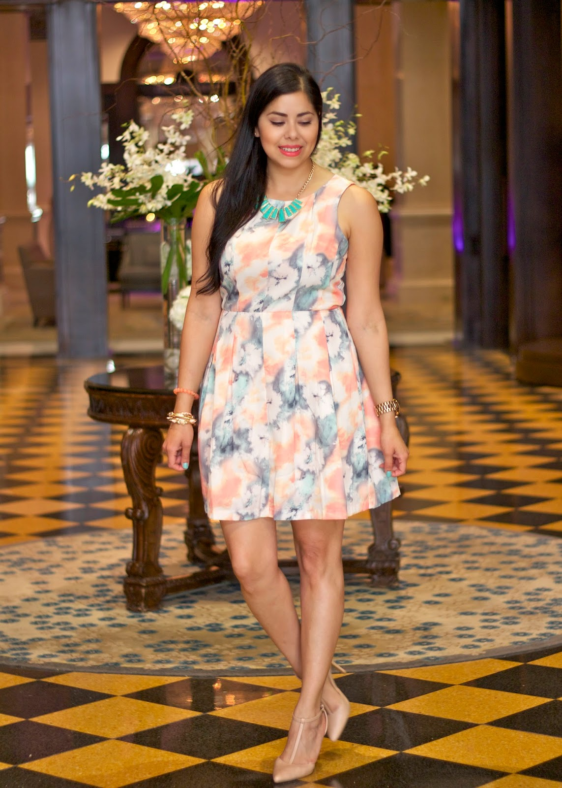 Sorbet Okay Dress Modcloth, Sorbet Dress Modcloth, Sorbet Dress, Modcloth dress on fashion blogger