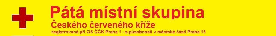 Pátá místní skupina Českého červeného kříže