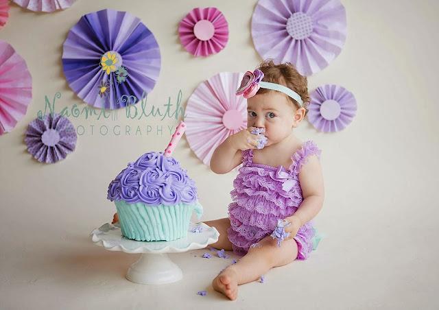 Boca Raton baby cake smash photographer Naomi Bluth