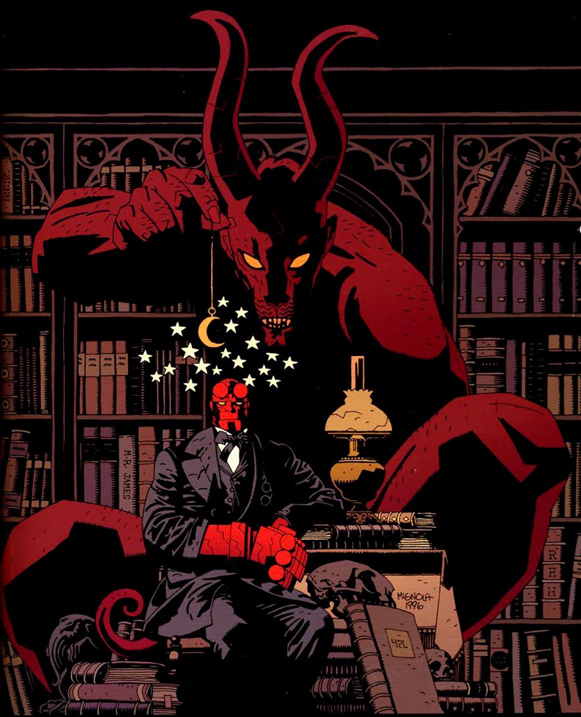 Art Of Comics And Manga: Miranda Leblanc: Hellboy Wallpaper Hd