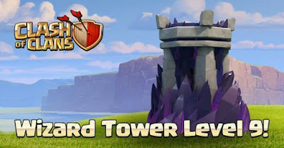 Update Wizard Tower level 9
