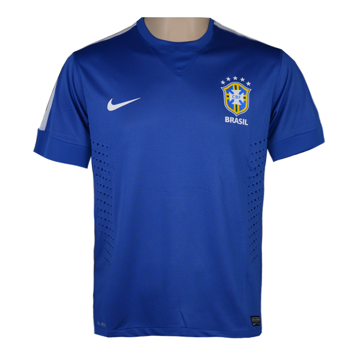 Jual Kaos Bola Jersey Jersey Bola Brazil Away 2013